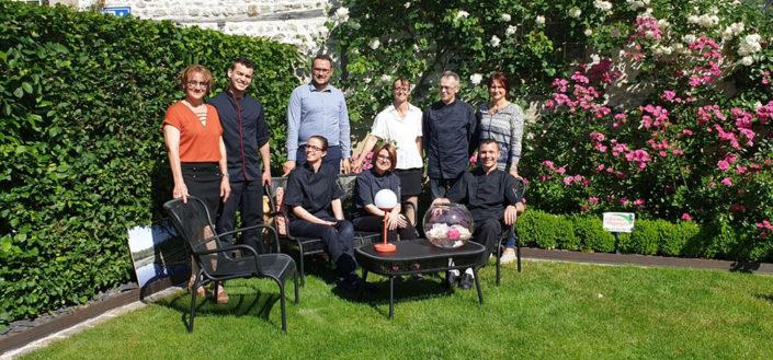 Tf1 au Lancelot pour La Route de la rose